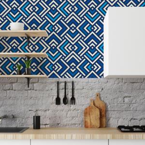 Custom designed bespoke wallcovering
