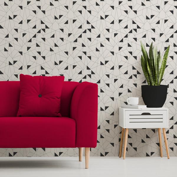 Custom designed wallcoverings